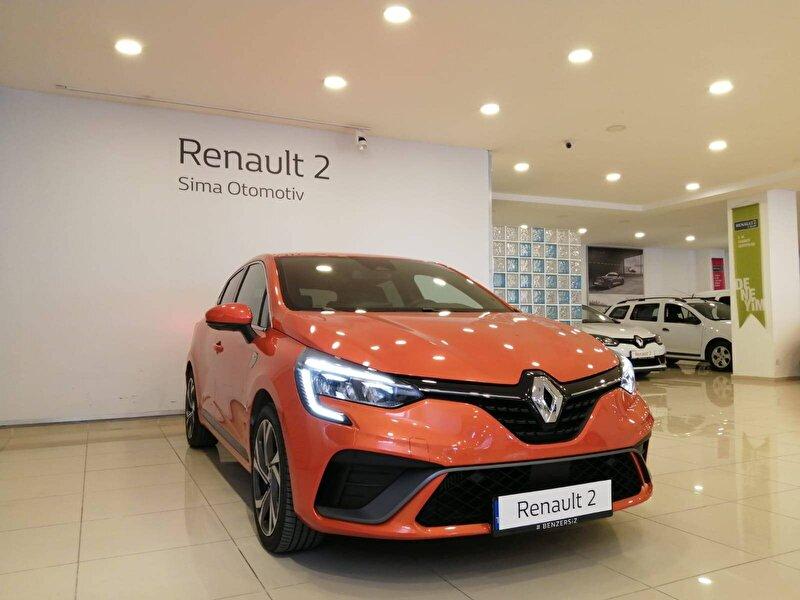 2020 Benzin Otomatik Renault Clio Turuncu SİMA OTOMOTİV