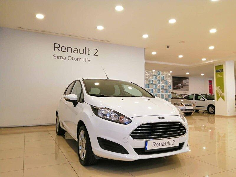 2015 Benzin Otomatik Ford Fiesta Beyaz SİMA OTOMOTİV