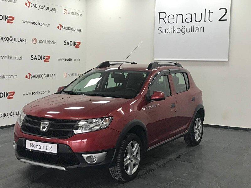 2013 Benzin Manuel Dacia Sandero Kırmızı SADIKOĞULLARI