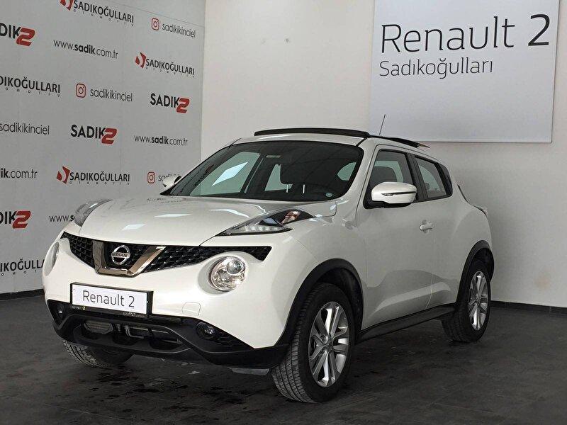 2018 Benzin Otomatik Nissan Juke Beyaz SADIKOĞULLARI