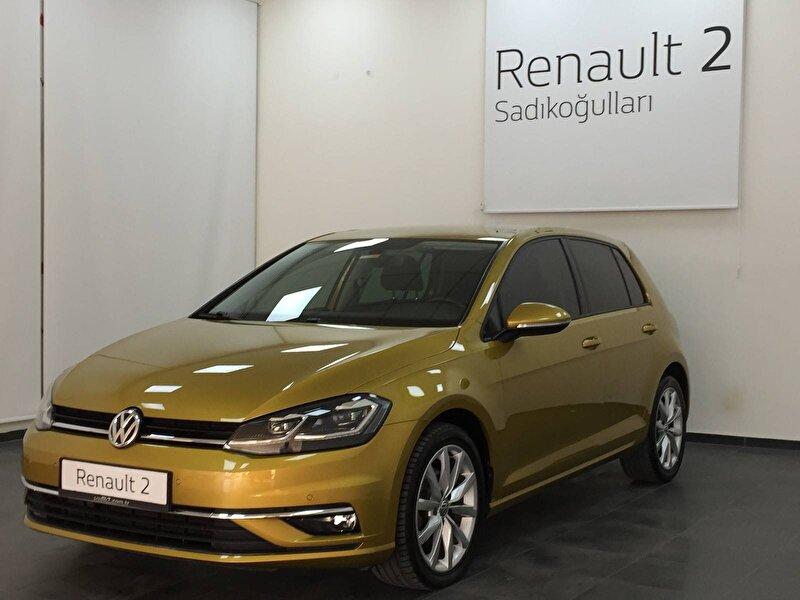 2018 Dizel Otomatik Volkswagen Golf Sarı SADIKOĞULLARI
