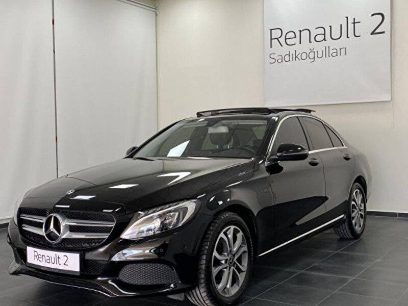 2018 Dizel Otomatik Mercedes-Benz C Siyah SADIKOĞULLARI