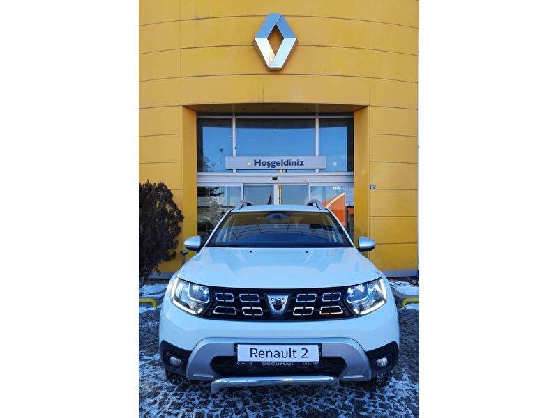 2019 Dizel Manuel Dacia Duster Beyaz DOĞUMAK