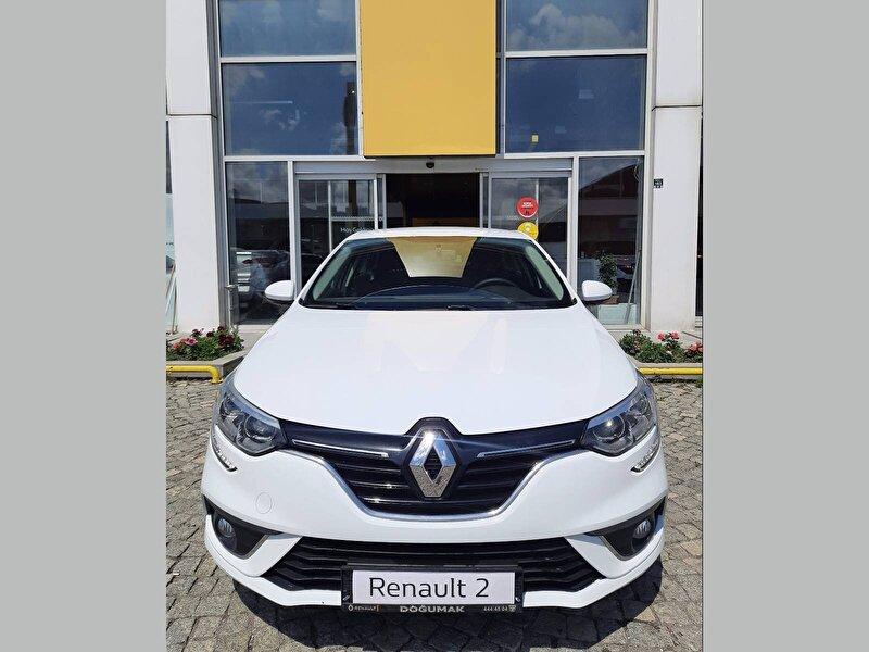 2017 Benzin + LPG Manuel Renault Megane Beyaz DOĞUMAK