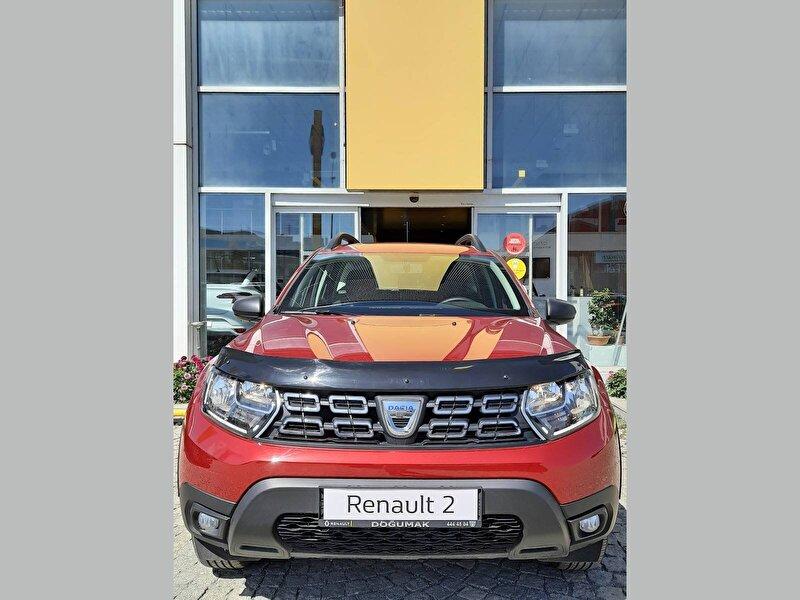 2020 Benzin + LPG Manuel Dacia Duster Kırmızı DOĞUMAK