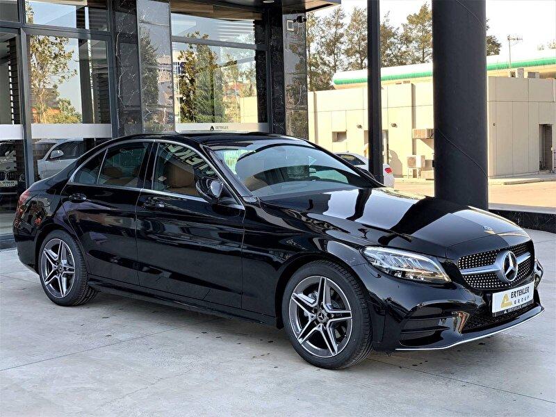 2021 Dizel Otomatik Mercedes-Benz C Siyah ERTEKLER OTOM.