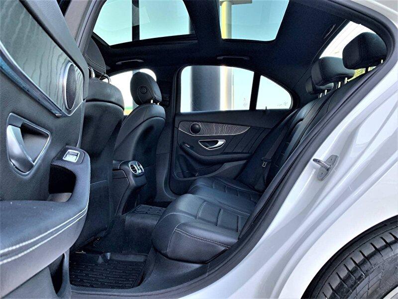 2018 Dizel Otomatik Mercedes-Benz C Beyaz ERTEKLER OTOM.