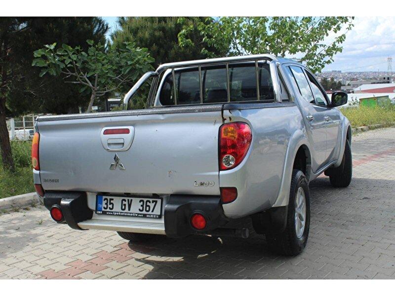 2014 Dizel Manuel Mitsubishi L Gümüş Gri İPEK  OTO