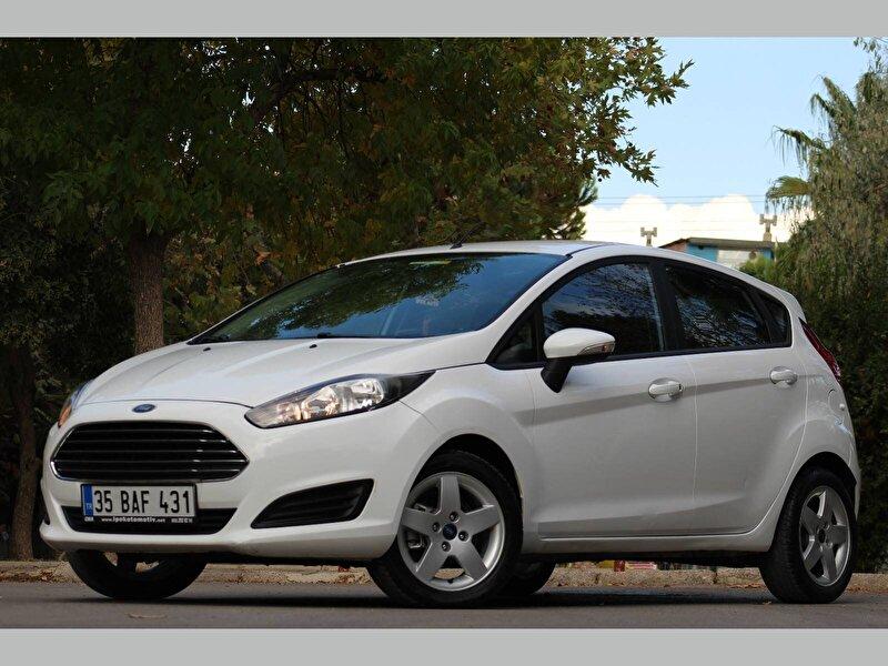 2016 Dizel Manuel Ford Fiesta Beyaz İPEK  OTO