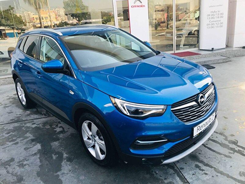 2018 Dizel Otomatik Opel Grandland X Mavi ÇAYAN OTOMOTİV