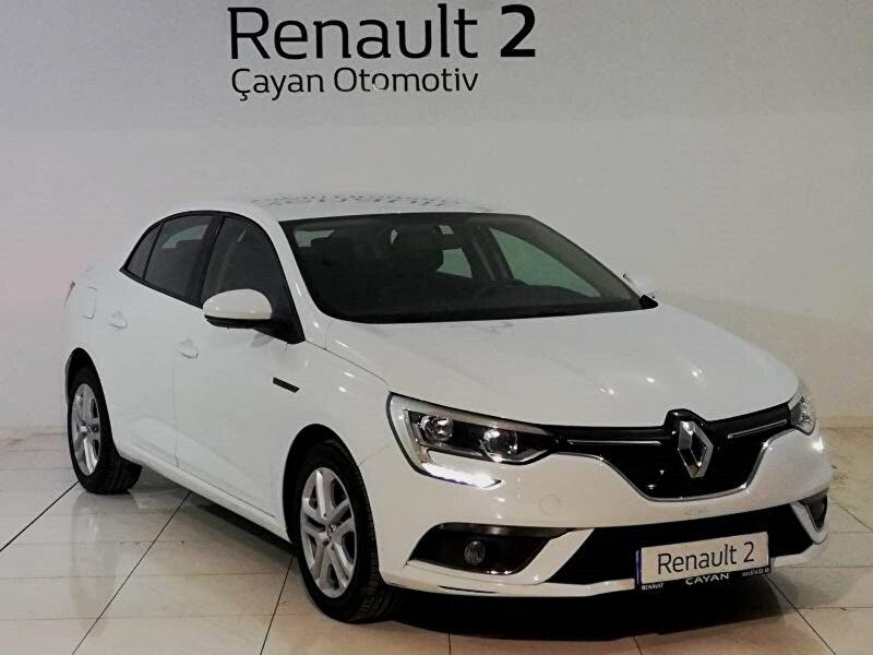 2019 Benzin Manuel Renault Megane Beyaz ÇAYAN OTOMOTİV