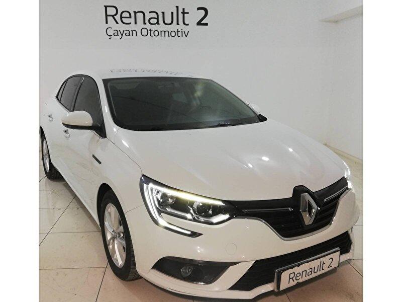 2018 Dizel Otomatik Renault Megane Beyaz ÇAYAN OTOMOTİV