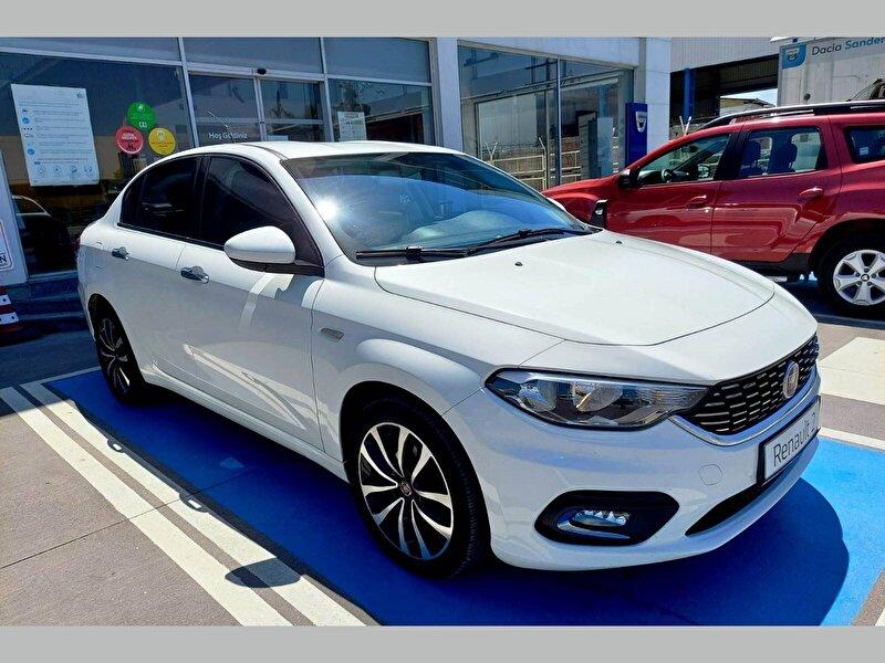 2017 Dizel Otomatik Fiat Egea Beyaz ÇAYAN OTOMOTİV