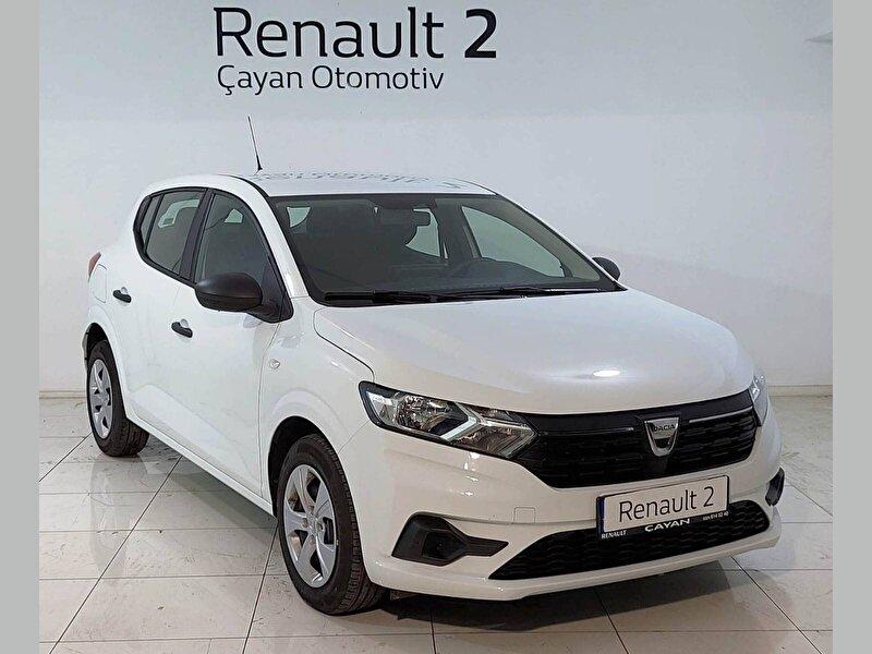 2021 Benzin Otomatik Dacia Sandero Beyaz ÇAYAN OTOMOTİV