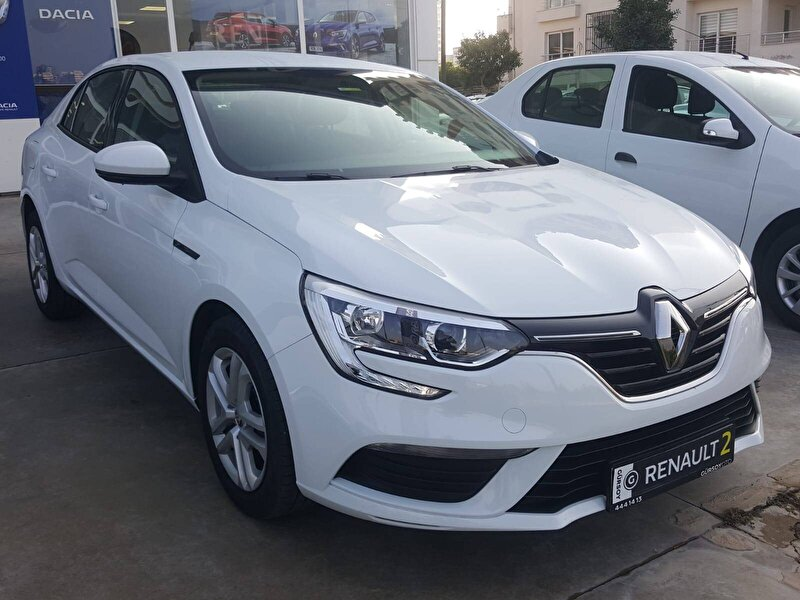 2020 Benzin Otomatik Renault Megane Beyaz GÜRSOY OTO