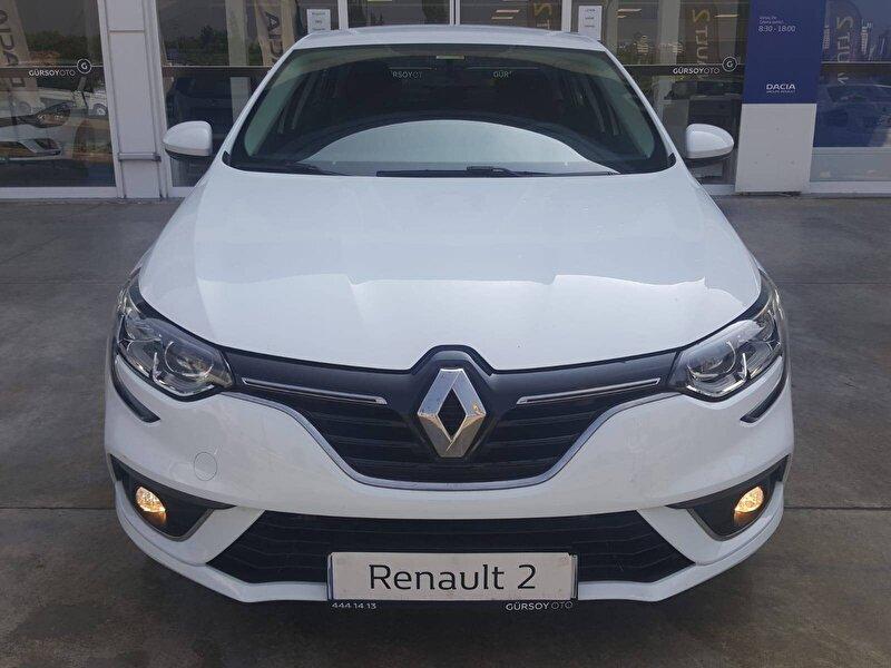 2019 Dizel Otomatik Renault Megane Beyaz GÜRSOY OTO