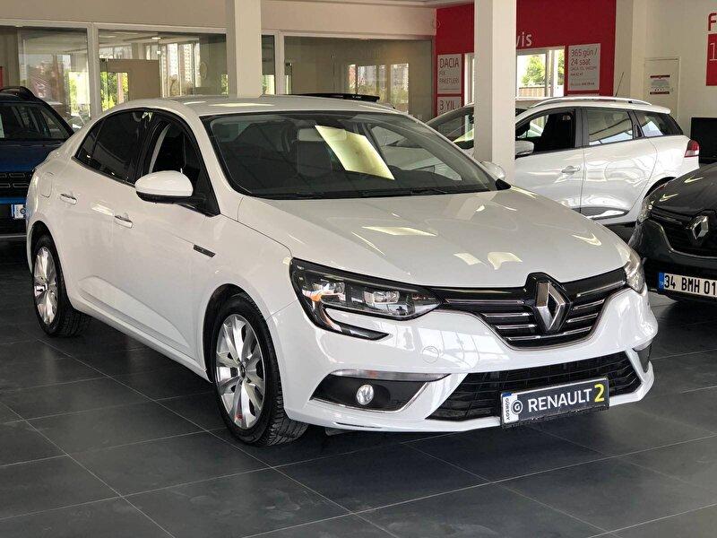 2017 Dizel Otomatik Renault Megane Beyaz GÜRSOY OTO