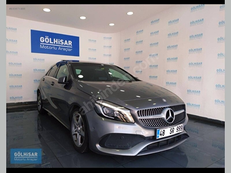 2016 Dizel Otomatik Mercedes-Benz A Gri RENAR OTOMOTİV