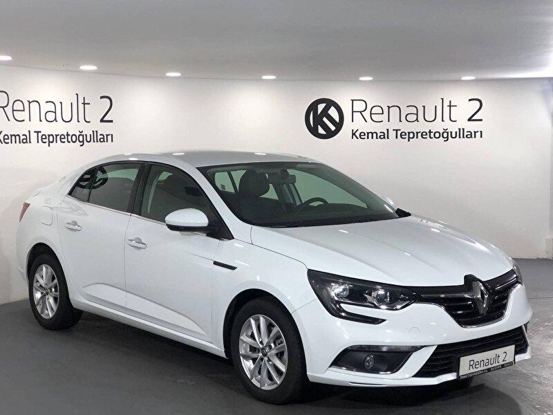 2019 Dizel Otomatik Renault Megane Beyaz KEMAL TEPRET