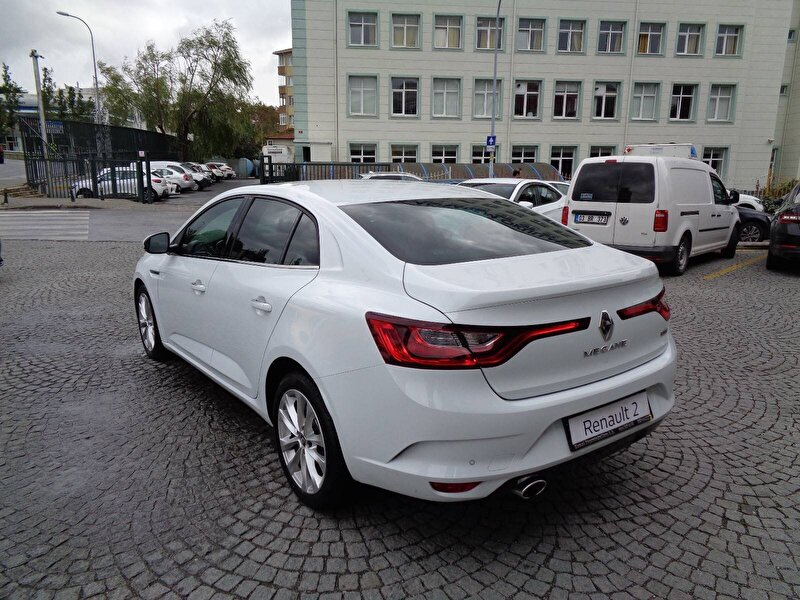 2017 Dizel Otomatik Renault Megane Beyaz KEMAL TEPRET
