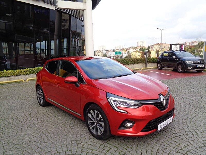 2020 Benzin Otomatik Renault Clio Kırmızı KEMAL TEPRET