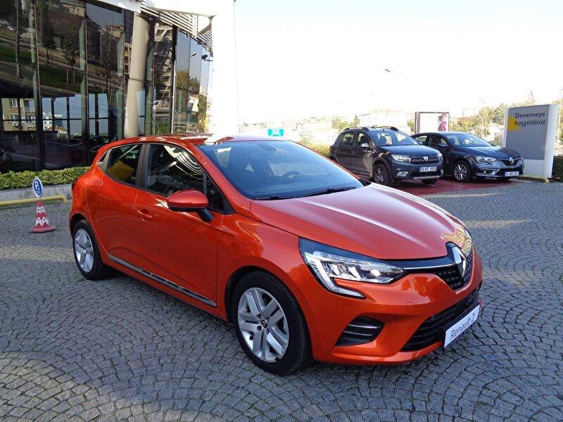 2020 Benzin Otomatik Renault Clio Turuncu KEMAL TEPRET