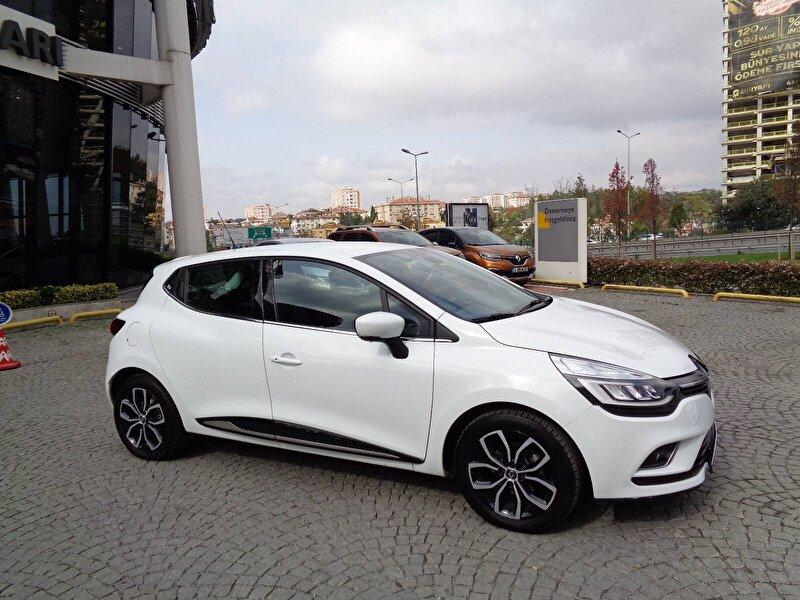 2017 Dizel Otomatik Renault Clio Beyaz KEMAL TEPRET