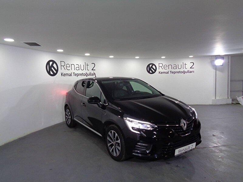 2020 Benzin Otomatik Renault Clio Siyah KEMAL TEPRET