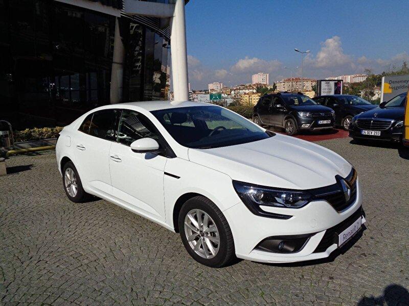 2020 Benzin Otomatik Renault Megane Beyaz KEMAL TEPRET