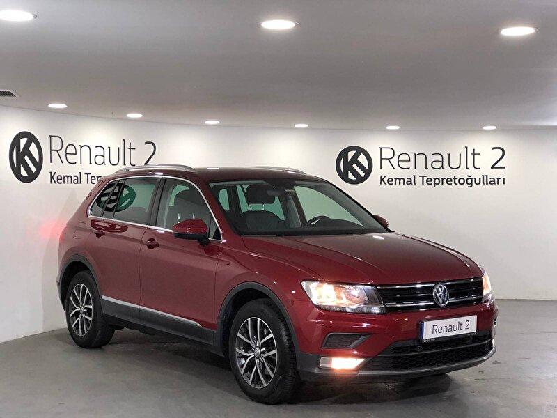 2016 Benzin Otomatik Volkswagen Tiguan Bordo KEMAL TEPRET