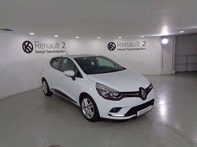 2018 Dizel Manuel Renault Clio Beyaz KEMAL TEPRET