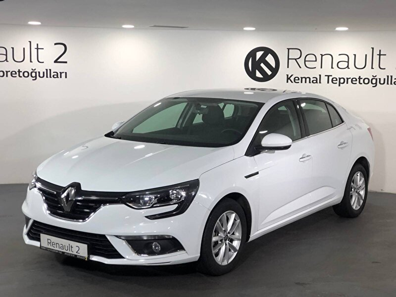 2020 Dizel Otomatik Renault Megane Gri KEMAL TEPRET