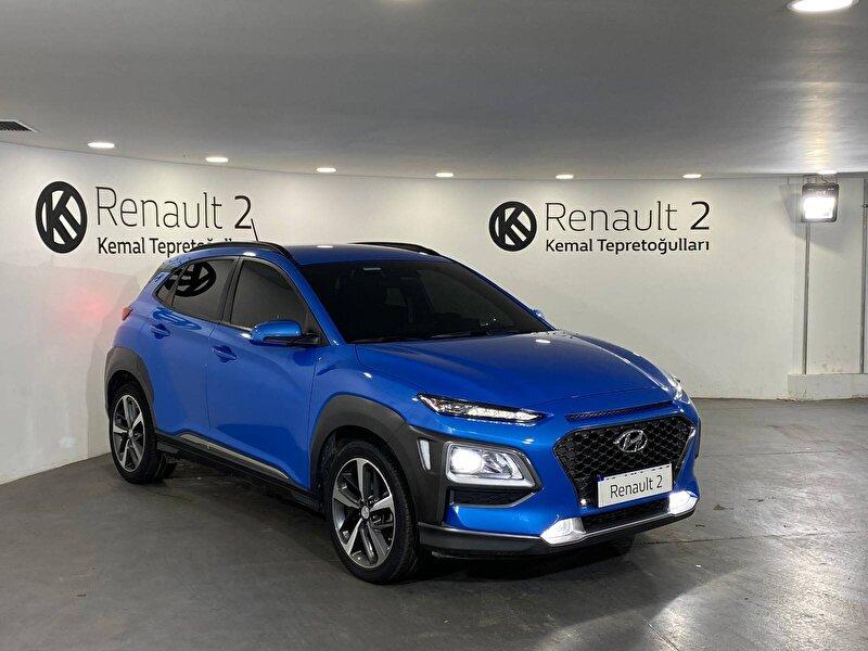2018 Benzin Otomatik Hyundai Kona Mavi KEMAL TEPRET