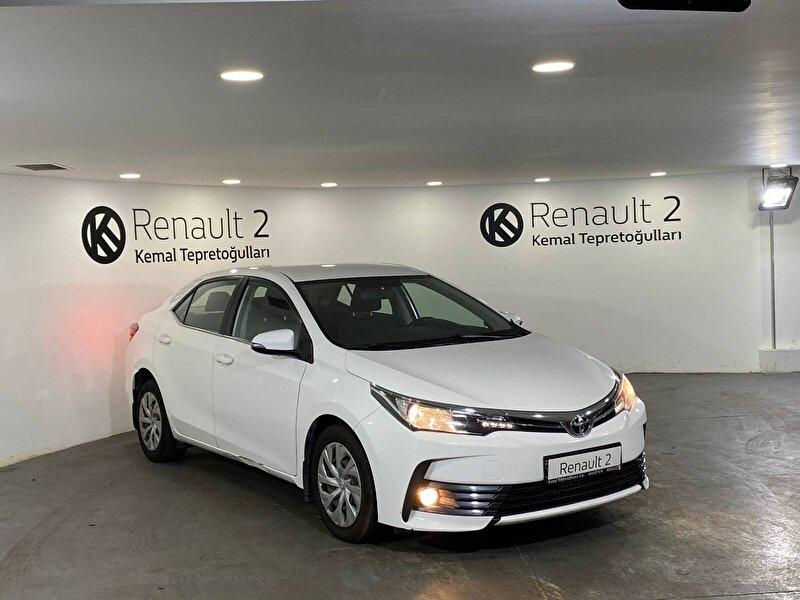 2018 Dizel Otomatik Toyota Corolla Beyaz KEMAL TEPRET