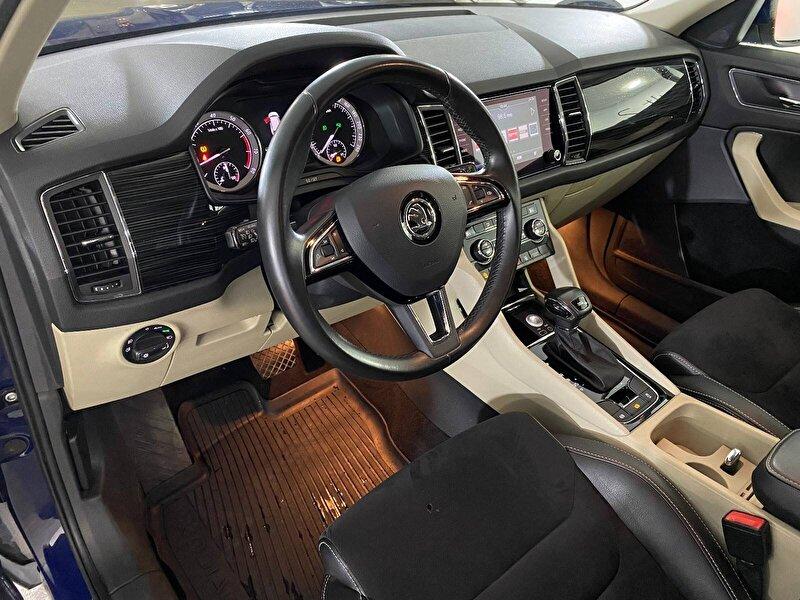 2017 Benzin Otomatik Skoda Kodiaq Mavi KEMAL TEPRET