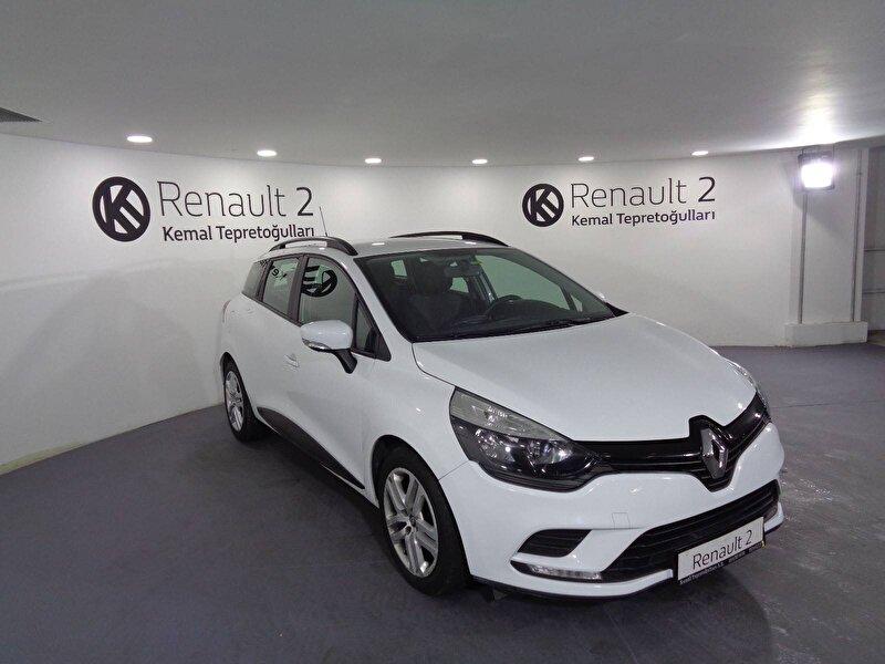 2019 Dizel Manuel Renault Clio Beyaz KEMAL TEPRET