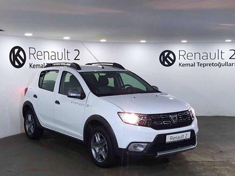 2019 Benzin + LPG Manuel Dacia Sandero Beyaz KEMAL TEPRET